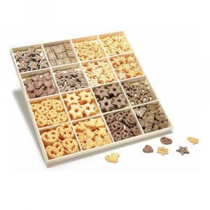 Decorazioni in resina biscotti con biadesivo linea Pan di Zenzero