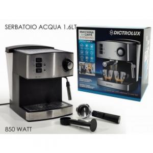 General Trade Macchina per Caffè Espresso 850W Serbatoio Acqua 1,6 Lt
