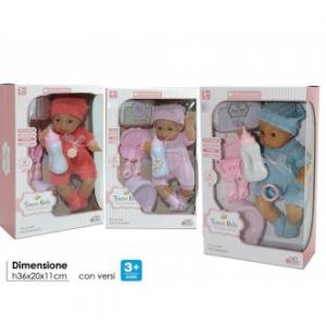 General Trade Bambolotto per Bambine Bebè, Colori Assortiti