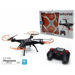 General Trade Drone Giocattolo Sky King 2,4 GHZ con Luci Led