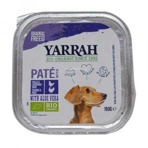 Paté per cani con tacchino e aloe vera Yarrah