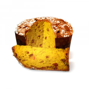 Artisan Panettone with Extra Virgin Olive Oil
