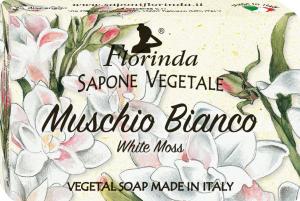 Florinda Sapone Vegetale al Muschio Bianco 50gr