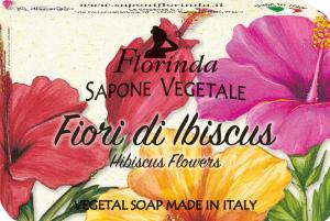 Florinda Sapone Vegetale ai Fiori Di Ibiscus 50gr