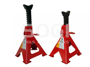 Coppia di cavalletti sotto auto regolabili SOGI X4-11 da 6 Ton
