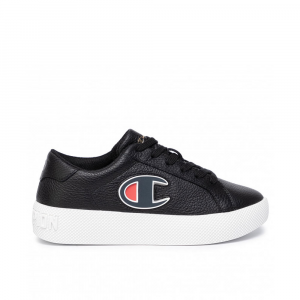 Champion Era Leather Nera da Ragazzo