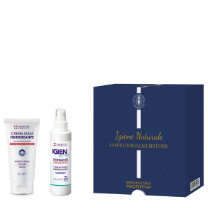 Kit Igiene Naturale - Un utilissimo ed elegante kit per un'igiene completa, sicura e naturale.