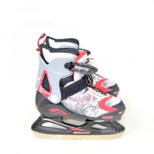 Ice Skates Bladerunner Grey Red Black N° 29-33