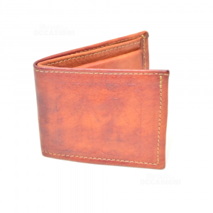 Wallet Mini Leather Siciliano 8x9 Cm