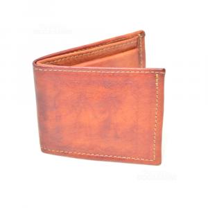 Portafoglio Mini In Pelle Siciliano 8x9 Cm
