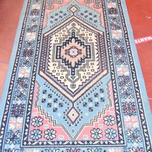 Tappeto Azzurro (no Frange) 195x100 Cm