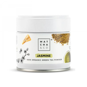 Matcha & Co Jasmine Organic Green Tea Powder 30g