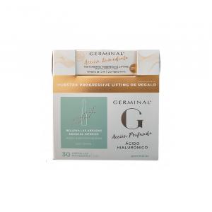 Germinal Deep Action Hyaluronic Acid 30 Ampoules Set 2 Pezzi