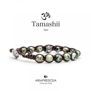 Bracciale Tamashii Ruota Preghiera Turchese Africano BHS1100-75
