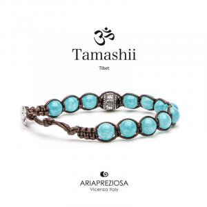 Bracciale Tamashii Ruota Preghiera Giada Verdeacqua BHS1100-200