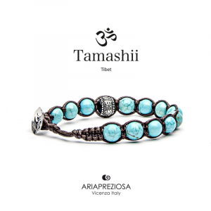 Bracciale Tamashii Ruota Preghiera Turchese BHS1100-07