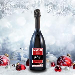 Villarena Wine MMXXI Asprinio D'Aversa DOC Brut Sparkling White Wine