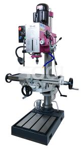 Trapano fresa a colonna fresatrice SOGI TF-40 discesa automatica inversione maschiatura