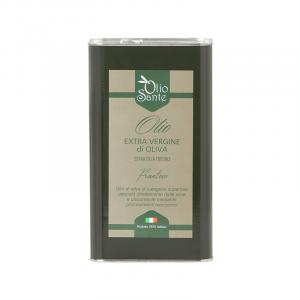 Olio EVO Frantoio 3L 2020/21 - Olio extravergine di oliva Pugliese cultivar Frantoio Sante Latta da 3 Litri - Terre di Ostuni-2