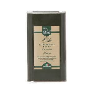 Olio EVO Frantoio 1L 2020/21 - Olio extravergine di oliva Pugliese cultivar Frantoio Sante in latta da 1 Litro - Terre di Ostuni-2