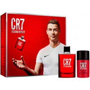 CR7 Cristiano Ronaldo Eau De Toilette Spray 50ml Set 2 Parti