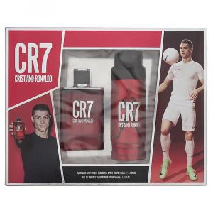 Cristiano Ronaldo CR7 Eau De Toilette Spray 50ml Set 2 Parti