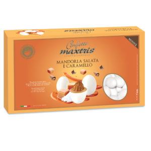 Confetti Maxtris Ciocomandorla Mandorla salata e caramello