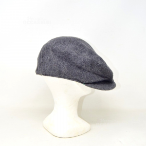 Hat Man Lee 70% Wool 30% Cashmere Gray Dark