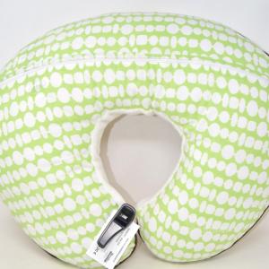 Cushion Breastfeeding Boppy White Green
