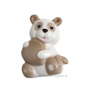Magnete Panda in porcellana 6.5 cm - Bomboniera battesimo e comunione