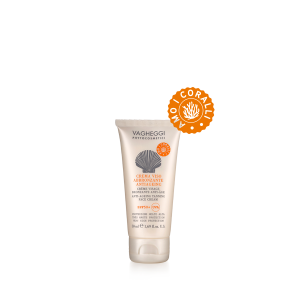 Crema Viso Abbronzante Antiaging SPF50+