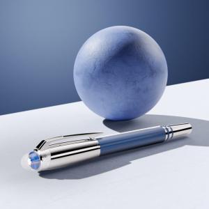 Stilografica Montblanc StarWalker Blue Planet Metal Doué