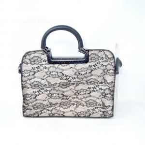 Bag Black Lace 34x27x13 Cm