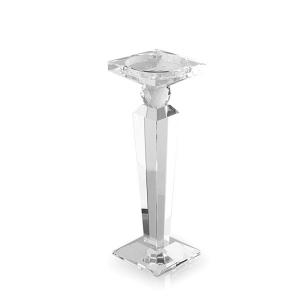 Portacandela cristallo obelisco Hervit