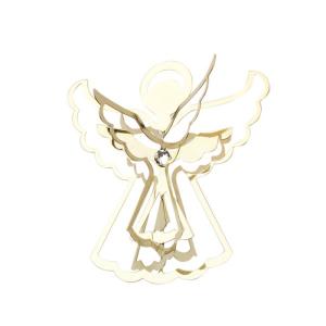 Decorazione 3d angelo in metallo Hervit