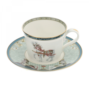 Tazza te in porcellana New Bone China Hervit