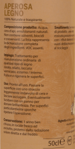 APEROSA LEGNO - pulizia e trattamento del legno