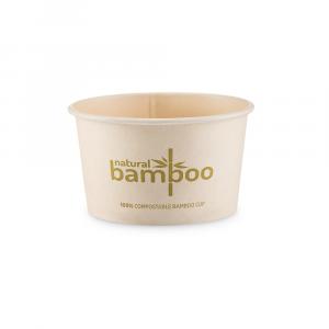 Coppette gelato in Bamboo compostabile 160cc