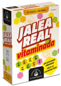 El Natural Jalea Real Vitaminada 20 Viales Abre Facil