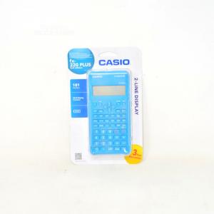 Casio Calculator Scientifica 12 Cifre Battery Fx-220 Plus-2 New
