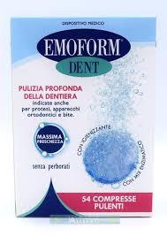 Emoform dent 54 compresse pulenti