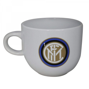 Tazza mug Inter per la colazione in ceramica