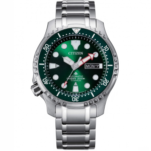 Citizen Diver's Automatic 200 mt - Super Titanio, Verde