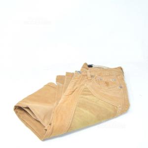 Trousers Woman Jeckerson Size 26 Brown