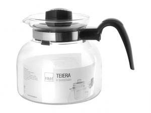 Teiera in vetro borosilicato 1,5lt