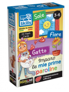FLASH CARDS - Imparo le mie Prime Paroline
