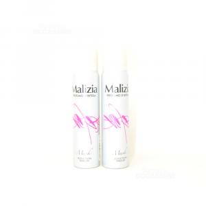 Malizia Deodorant Musk Woman 2x100ml