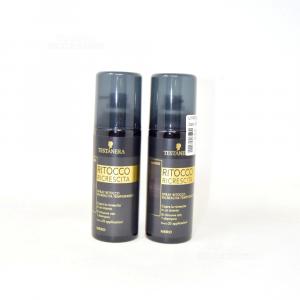 Testanera Ritocco Ricrescita Spray Black 120 Ml.- Dyes Hair 2 Pieces
