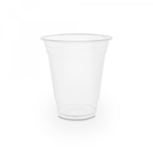 Bicchieri PLA trasparente Premium per Smoothies - 360ml