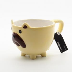 Kitchencraft Dog Mug, 350Ml, Gift Tagged